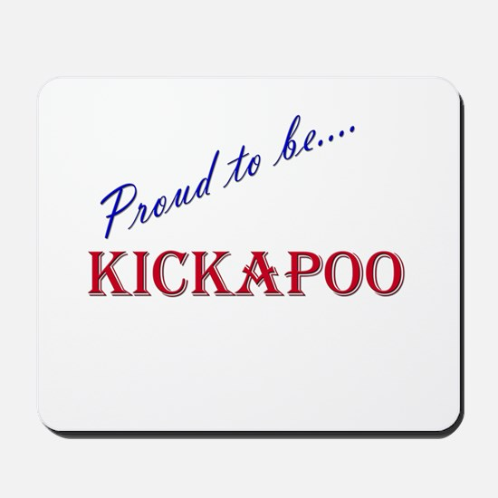 Kickapoo Mousepad