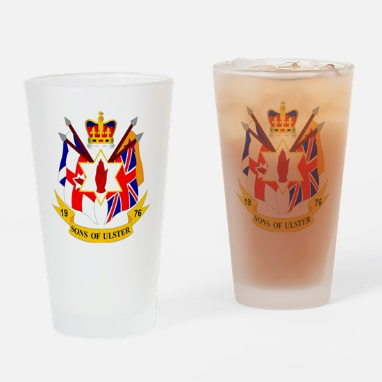 sou badge Drinking Glass