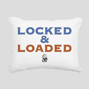lockedloaded Rectangular Canvas Pillow
