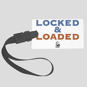 lockedloaded Large Luggage Tag