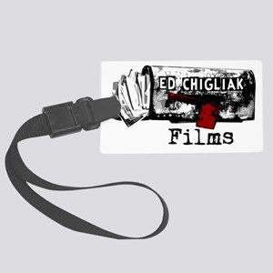 ecfilms-4white Large Luggage Tag