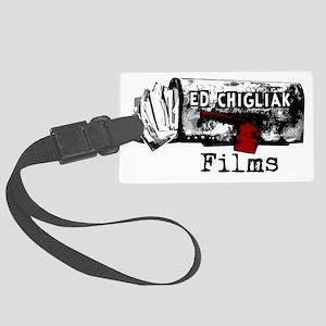 ecfilms-4white Large Luggage Tag