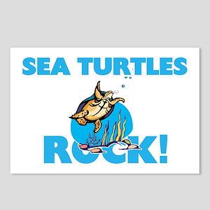 Sea Turtles rock! Postcards (Package of 8)