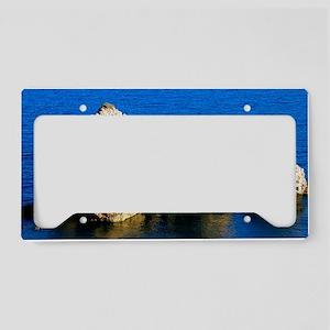 Aphrodites Rock License Plate Holder