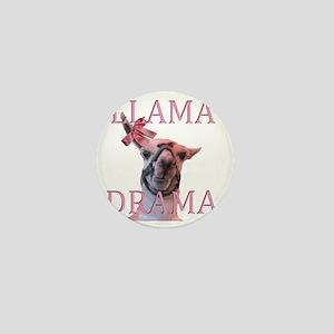 LLAMADRAMA Mini Button