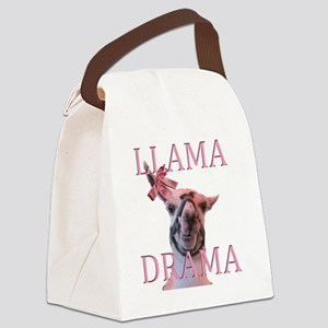 LLAMADRAMA Canvas Lunch Bag