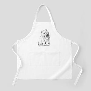 Samoyed Puppy Apron