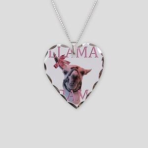 LLAMADRAMA Necklace Heart Charm