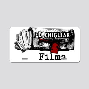 ecfilms-4dark Aluminum License Plate