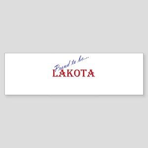 Lakota Pride Bumper Sticker