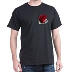 Red Rose Dark T-Shirt