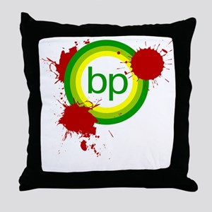 shutemdown_black Throw Pillow
