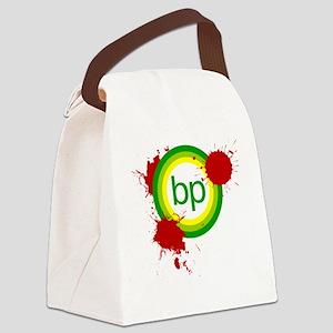 shutemdown_black Canvas Lunch Bag