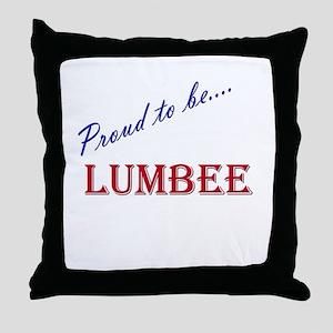 Lumbee Throw Pillow