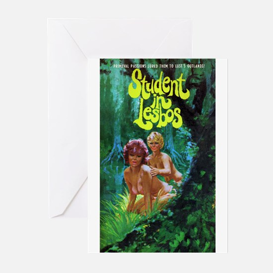 STUDENT IN LESBOS Greeting Cards (Pk of 10)
