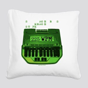 2-SERIOUSLY Square Canvas Pillow