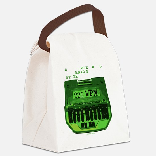 2-SERIOUSLY Canvas Lunch Bag