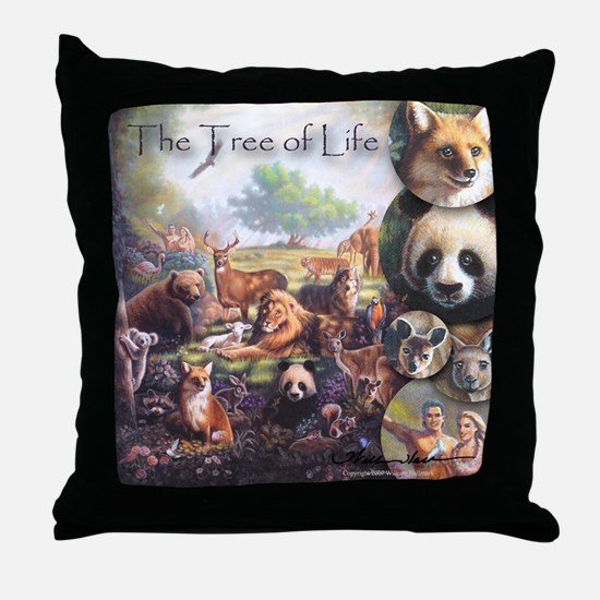 """Tree of Life"" Nature Fine Art Pillow"