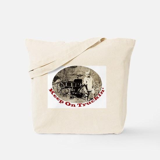 Keep On Truckin' Tote Bag
