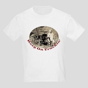 Keep On Truckin' Kids Light T-Shirt