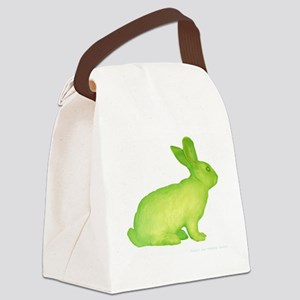 glo bunny Canvas Lunch Bag