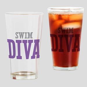 Swim DIVA Drinking Glass