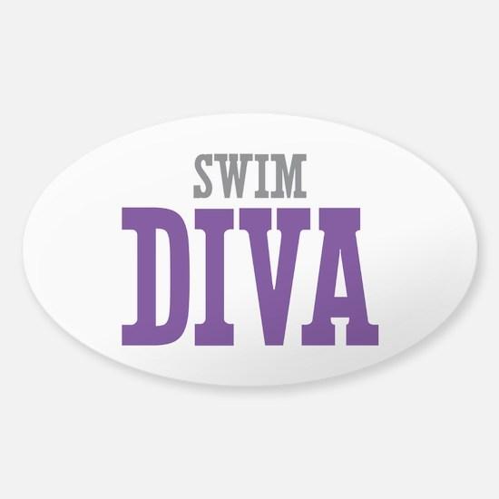 Swim DIVA Sticker (Oval)