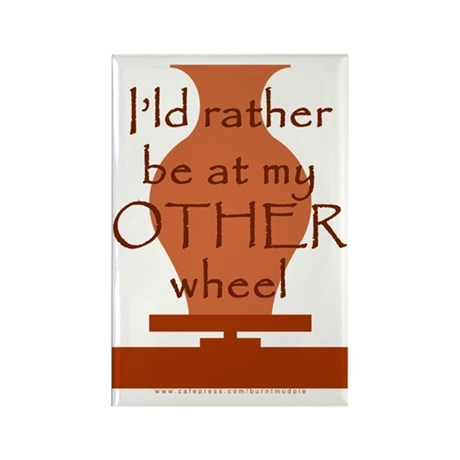 other_wheel-t-shirt Rectangle Magnet
