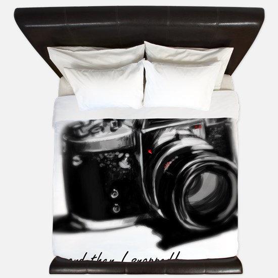 camerasnapped King Duvet