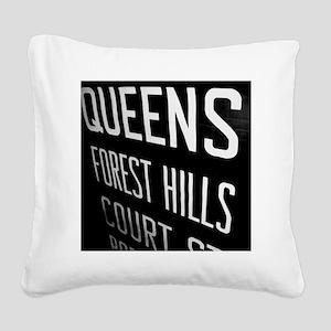 Slide33 Square Canvas Pillow