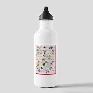 ChildrensFabricPrint3 Stainless Water Bottle 1.0L