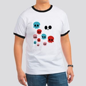 Colorful Skulls T-Shirt