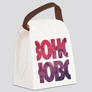 bohemian boho hobo t-shirt Canvas Lunch Bag