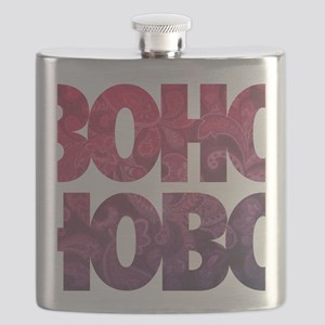bohemian boho hobo t-shirt Flask