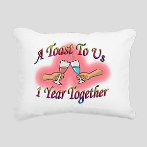 a toast 1 copy Rectangular Canvas Pillow