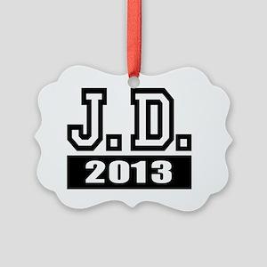 2-J.D. 2013 Picture Ornament