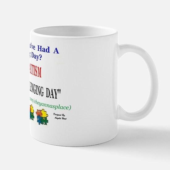 autistic person challenge Mug