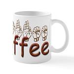 Coffee Mug in ASL Mug