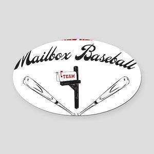 MAILBOX Oval Car Magnet