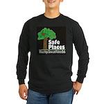 Safe Places Long Sleeve Dark T-Shirt