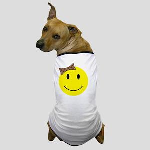 smilebowredtopattitude Dog T-Shirt
