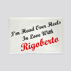 In Love with Rigoberto Rectangle Magnet