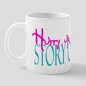 hurrywaitBLK Mug