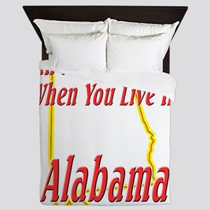 Alabama - Smiling Queen Duvet