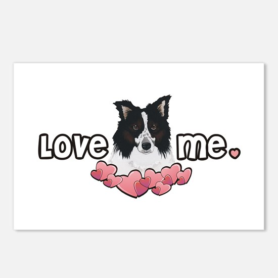 Love Me Border Collie Postcards (Package of 8)
