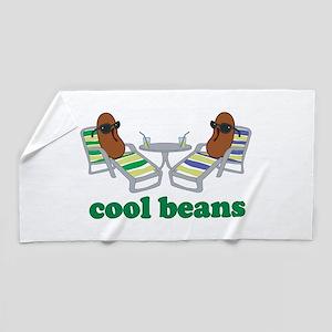 Cool Beans Beach Towel