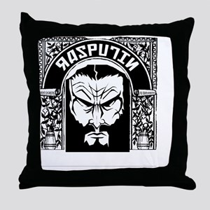 rasputinT Throw Pillow