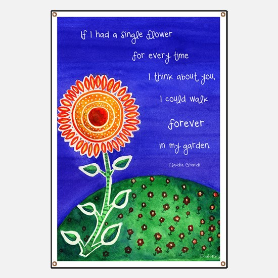 sSunflower small poster Banner