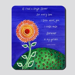 sSunflower small poster Mousepad