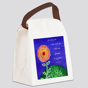 sSunflower small poster Canvas Lunch Bag